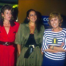 Mila Ximénez, Encarna Sanchez e Isabel Pantoja
