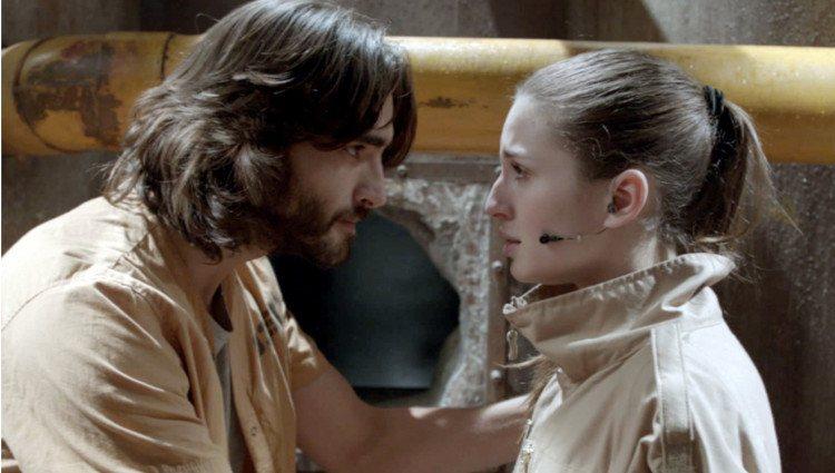 Maria Valverde y Aitor Luna en el capítulo final del 'La fuga'