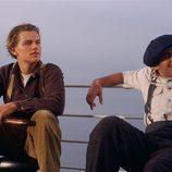 Un joven Leonardo Dicaprio en la película 'Titanic'