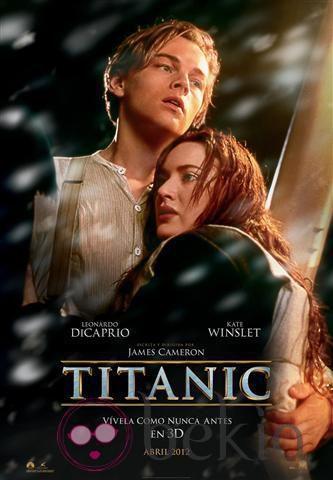 Póster oficial del reestreno de 'Titanic' en 3D