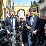 Los Duques de Alba y Cayetano Martínez de Irujo en Sevilla