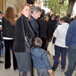 María Dolores de Cospedal en la Semana Santa de Sevilla