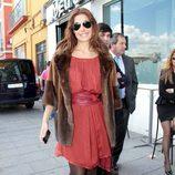 Raquel Revuelta en la Semana Santa de Sevilla
