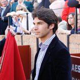 Cayetano Rivera en la corrida de toros del Domingo de Resurrección en Sevilla