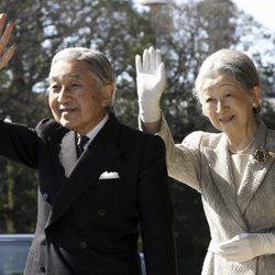 El Emperador Akihito y la Emperatriz Michiko de Japón