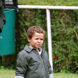 Felipe de Marichalar con 3 años