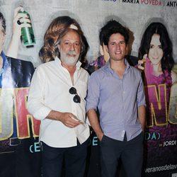 Antonio Zabalburu y Charlie Levy en el estreno de 'Burundanga'