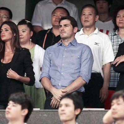 Iker Casillas y Sara Carbonero en China