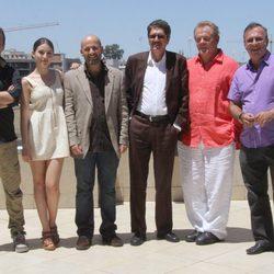 El reparto de 'A puerta fría' presenta el filme en Sevilla
