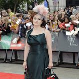 Helena Bonham Carter en el estreno de Harry Potter en Londres