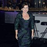 Imelda Staunton en la fiesta posterior al estreno de Harry Potter en Londres