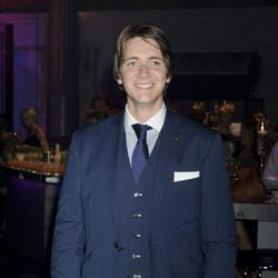James Phelps en la fiesta posterior al estreno de Harry Potter en Londres