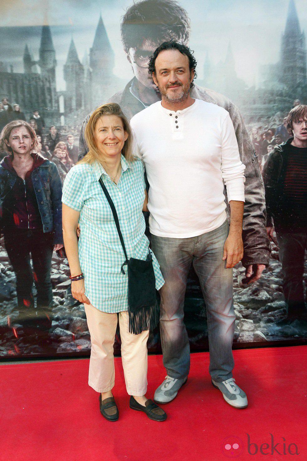 César Vea en el preestreno de Harry Potter en Madrid