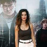 Lidia San José en el preestreno de Harry Potter en Madrid