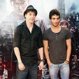 Adrián Lastra en el preestreno de Harry Potter en Madrid