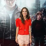 Silvia Alonso en el preestreno de Harry Potter en Madrid