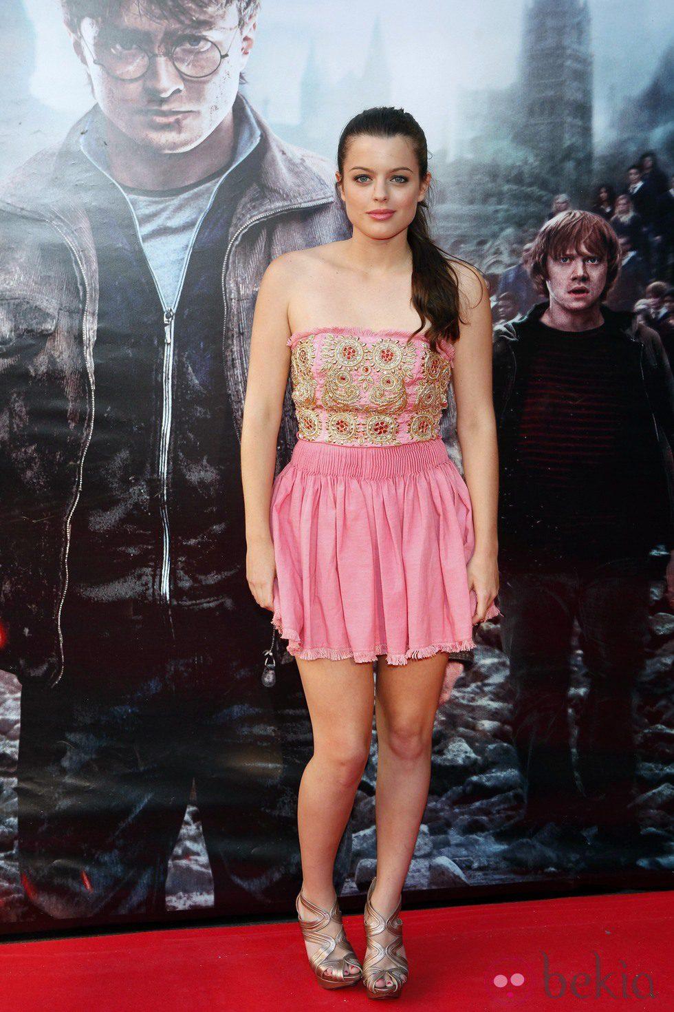 Adriana Torrebejano en el preestreno de Harry Potter en Madrid