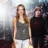 Ana Fernández en el preestreno de Harry Potter en Madrid