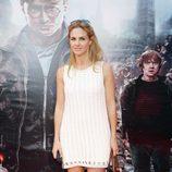 Genoveva Casanova en el preestreno de Harry Potter en Madrid