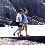 Carla Bruni embarazada con Nicolas Sarkozy
