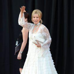 Barbra Streisand llega a la gala de los Duques de Cambridge