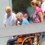 Ortega Cano sale del hospital apenado