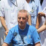 José Ortega Cano en silla de ruedas