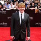 Rupert Grint rodeado de los fans neoyorkinos de Harry Potter
