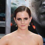 Emma Watson, sonriente en la premiére neoyorkina de Harry Potter