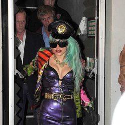 Lady Gaga fiel a su estilo en Sidney