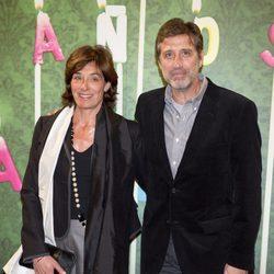 Emilio Aragón y su mujer, Aruca, en el aniversario de laSexta
