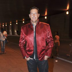 Óscar Lozano en el concierto de Black Eyed Peas en Madrid