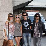 Coti en el concierto de Black Eyed Peas en Madrid