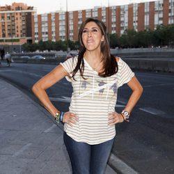 Paz Padilla en el concierto de Black Eyed Peas en Madrid