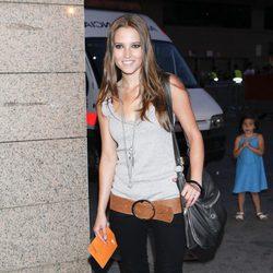 Ana Fernández en el concierto de Black Eyed Peas en Madrid