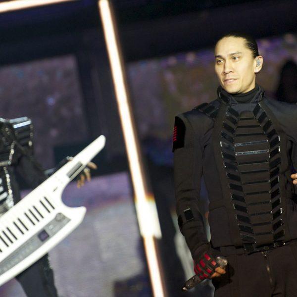 Famosos en el concierto de Black Eyed Peas en Madrid