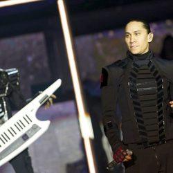 Taboo de Black Eyed Peas durante su concierto en Madrid