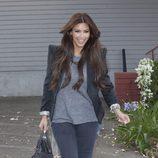 Kim Kardashian con americana