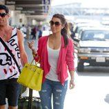 Kim Kardashian con Birkin flúor