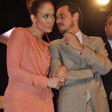Jennifer Lopez y Marc Anthony meses antes de su divorcio