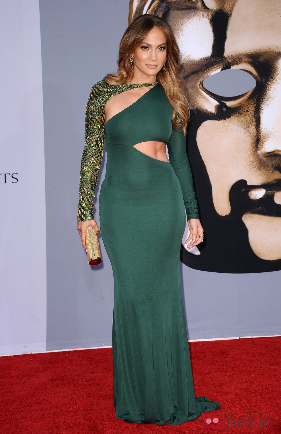 Jennifer Lopez con un vestido joya de Emilio Pucci