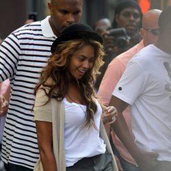Beyoncé luce celulitis en shorts