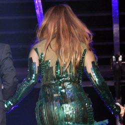 Jennifer Lopez, celulitis en concierto