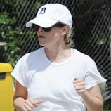 Reese Witherspoon hace deporte en shorts