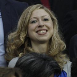La hija de Bill y Hillary Clinton en la final del Mundial de Fútbol Femenino 2011