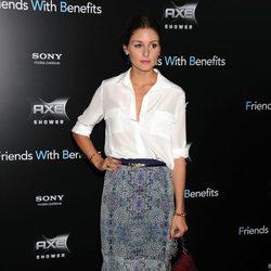 Olivia Palermo en la premiere de 'Friends with benefits' en Nueva York