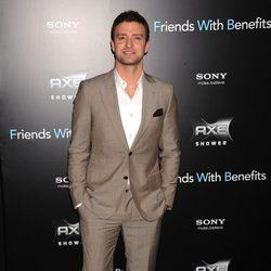 Justin Timberlake en la premiere de 'Friends with benefits' en Nueva York