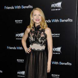 Patricia Clarkson en la premiere de 'Friends with benefits' en Nueva York