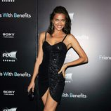 Irina Shayk en la premiere de 'Friends with benefits' en Nueva York