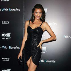 Irina Shayk en la premiere de 'Friends with benefits' en Nueva York